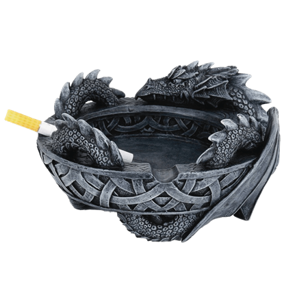 Celtic Dragon Ashtray