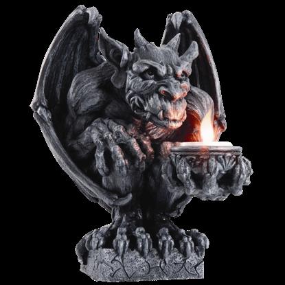 Gargoyle Candleholder