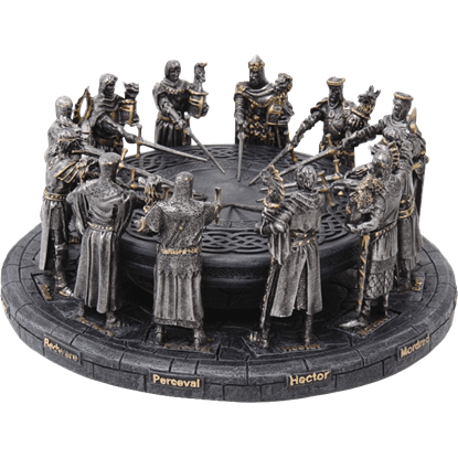 Knights of the Round Table Statue