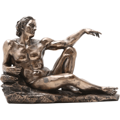 Bronze Creation of Man 1 Statue