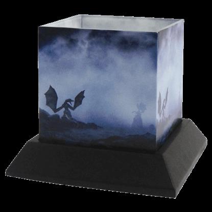 Dragon Myst Candle Hurricane by Julie Fain