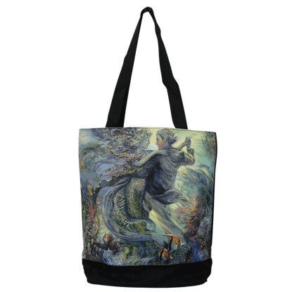 Love of Mermaid Tote Bag by Josephine Wall