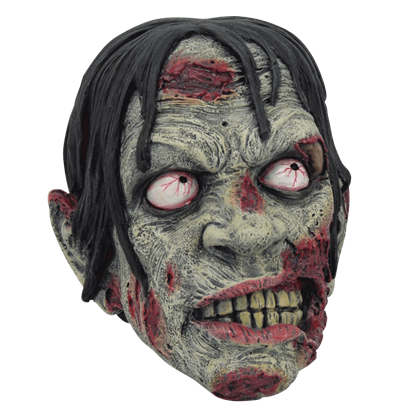 Undead Zombie Head