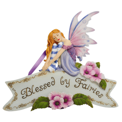 Blessed By Fairies Plaque