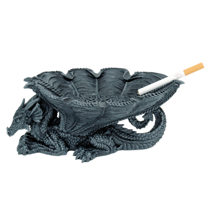 Furled Dragon Wing Ashtray