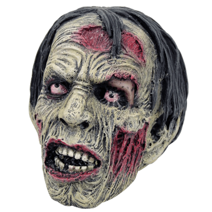 Staring Zombie Head