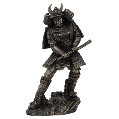 Drawing Samurai Warrior Statue
