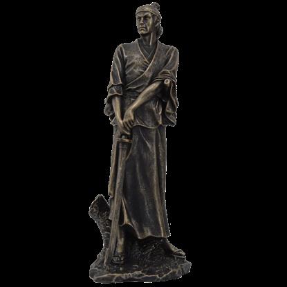 Downstroke Samurai Warrior Statue