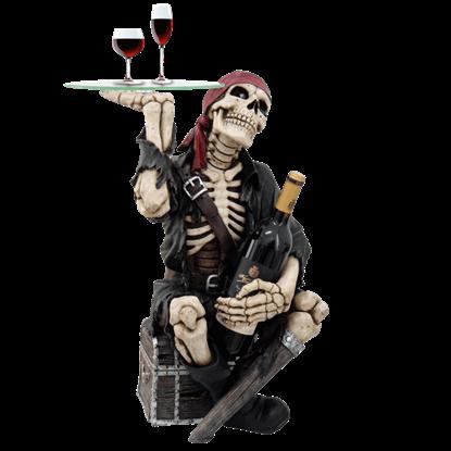 Skeletal Pirate Wine Table