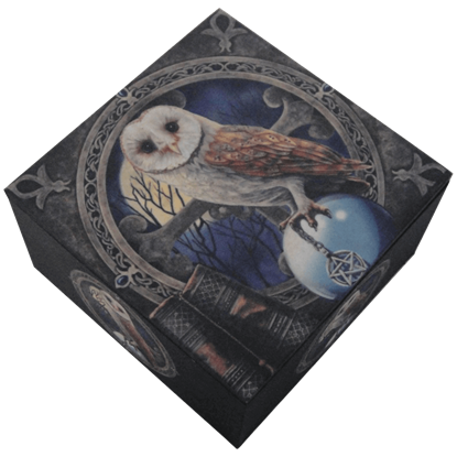 Owl and Pentacle Box