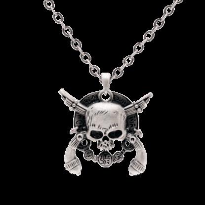 Crossed Skull Necklace