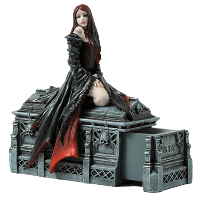 Await The Night Secret Box Statue