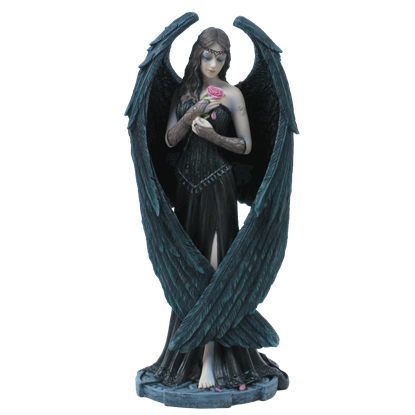 Angel Rose Statue