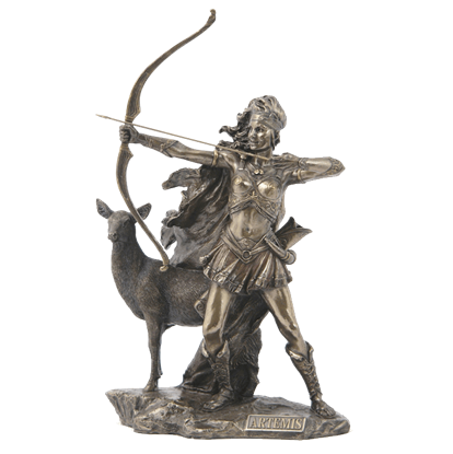 Artemis - The Goddess Of Hunting And Wilderness Statue