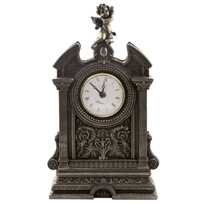 Baroque Cherub Shelf Clock