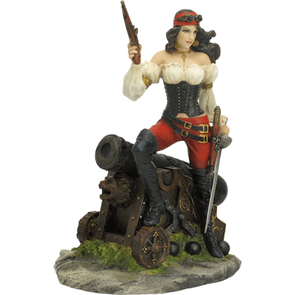 Female Pirate Statue