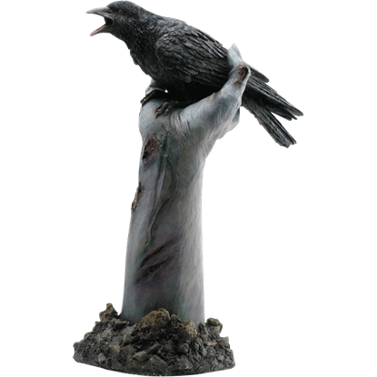 Crow on Zombie Hand