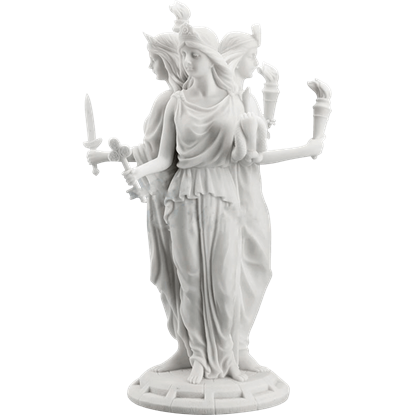 Greek Goddess Hecate Statue
