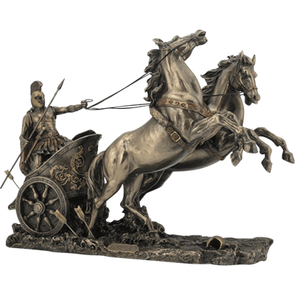 Achilles with Chariot Statue