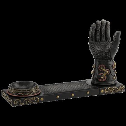 Gauntlet Steampunk Pistol Display Stand