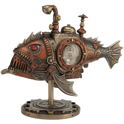 Black Seadevil Steampunk Submarine