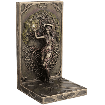 Bronze Earth Life Magic Bookend