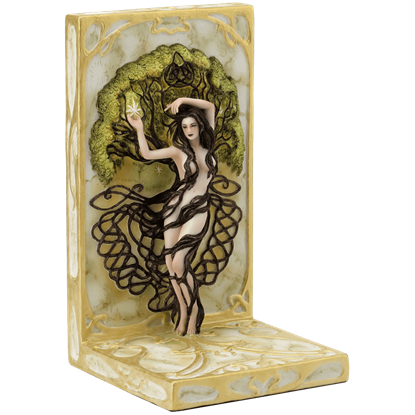 Earth Life Magic Bookend By Selina Fenech