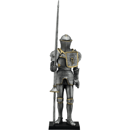 Armour with Lance Statue