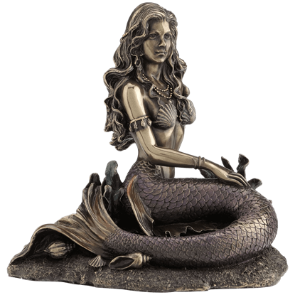 Bronze Enchanted Song Mermaid Statue