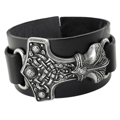 Thunderhammer Leather Bracelet