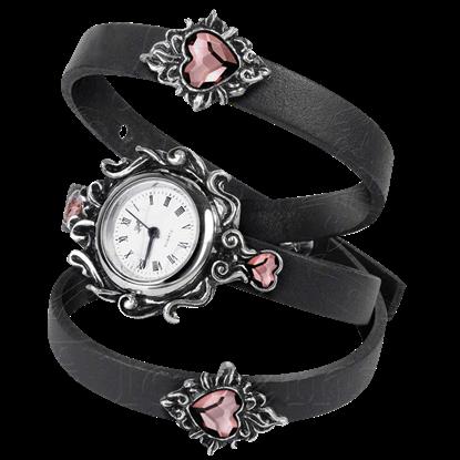 Womens Heartfelt Strap Watch