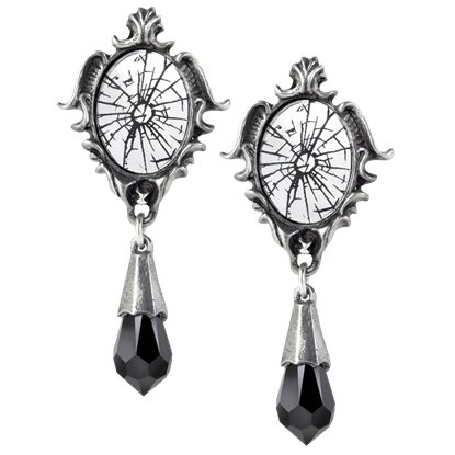 Catoptrauma Mirror Earrings