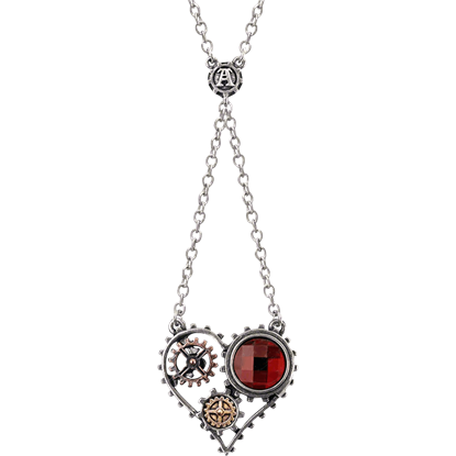 Coeur du Moteur Necklace