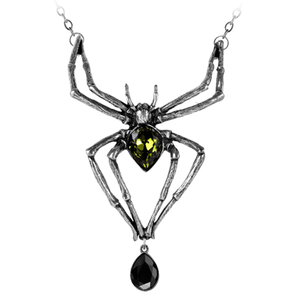 Emerald Venom Necklace
