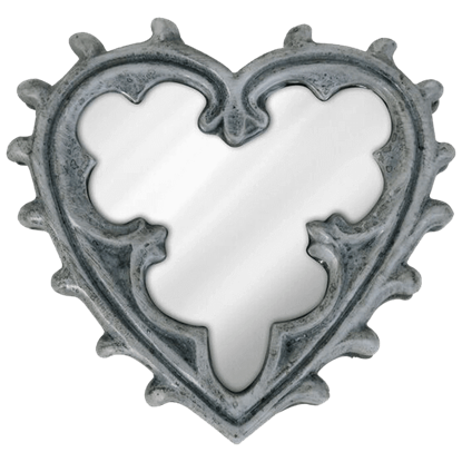 Gothic Heart Compact Mirror