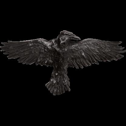 Black Raven Hair Clip