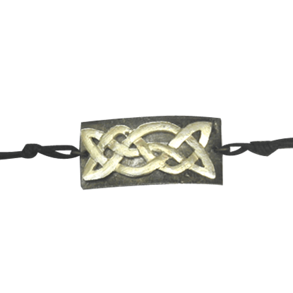 Antiqued Silver Celtic Knot Bracelet