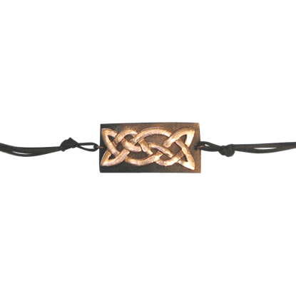 Antiqued Copper Celtic Knot Bracelet