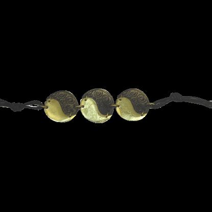 Brass Yin Yang Bracelet