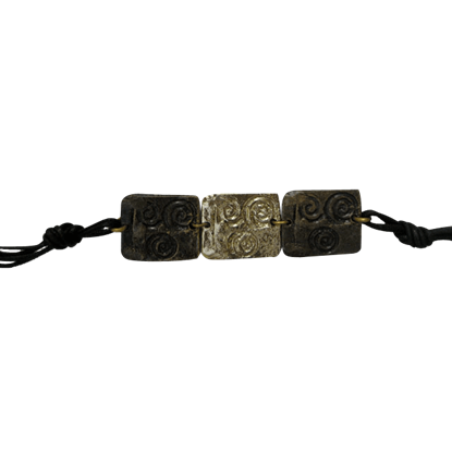 Brass Spiral Bracelet