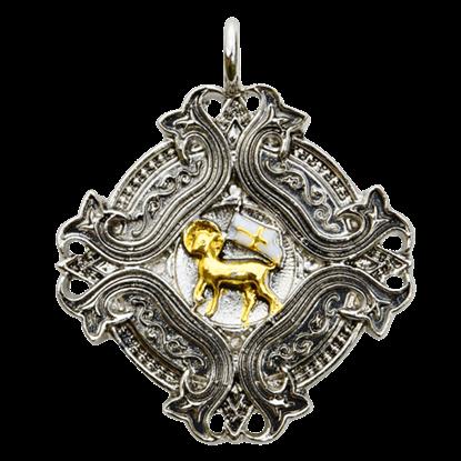 Agnus Dei Templar Necklace