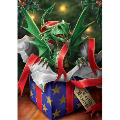 Surprise Gift - Yuletide Cards 6 Pack