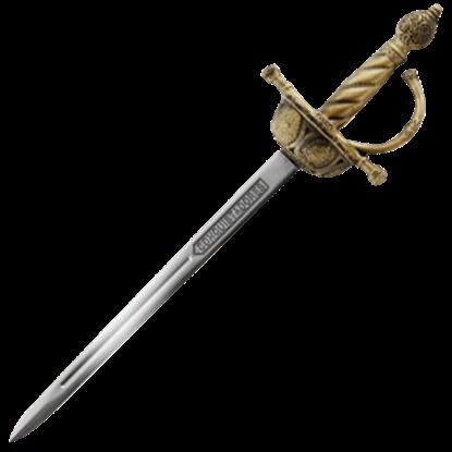 Bronze Conquistador Sword Letter Opener