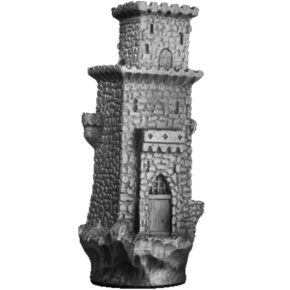 Castle Keep Figurine