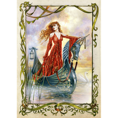 Lady of the Mists Cards by Briar