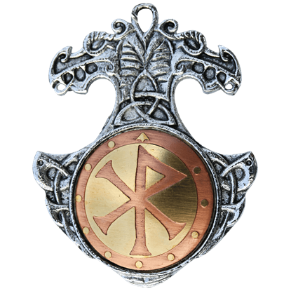 Bindrune Necklace for Happiness and Friendship