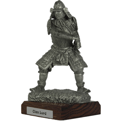 Pewter Clan Lord Sculpture