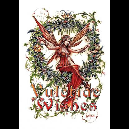 Mistletoe Fairy Yule Cards by Briar