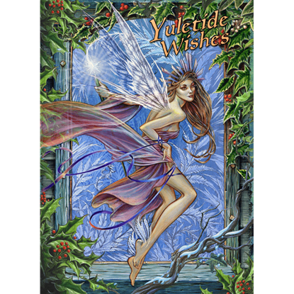 Frost Fairy Yule Cards by Briar