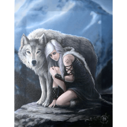 Protector Canvas Art Print by Anne Stokes